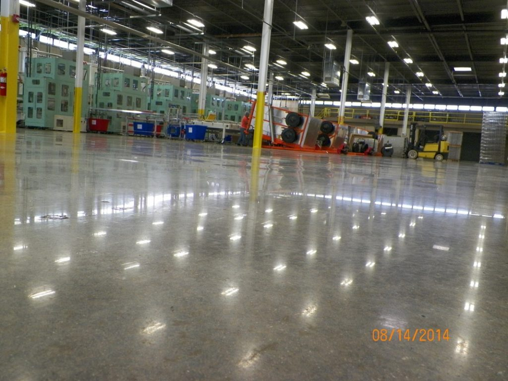 Commercial Concrete Surface Prep Contractors Atlanta