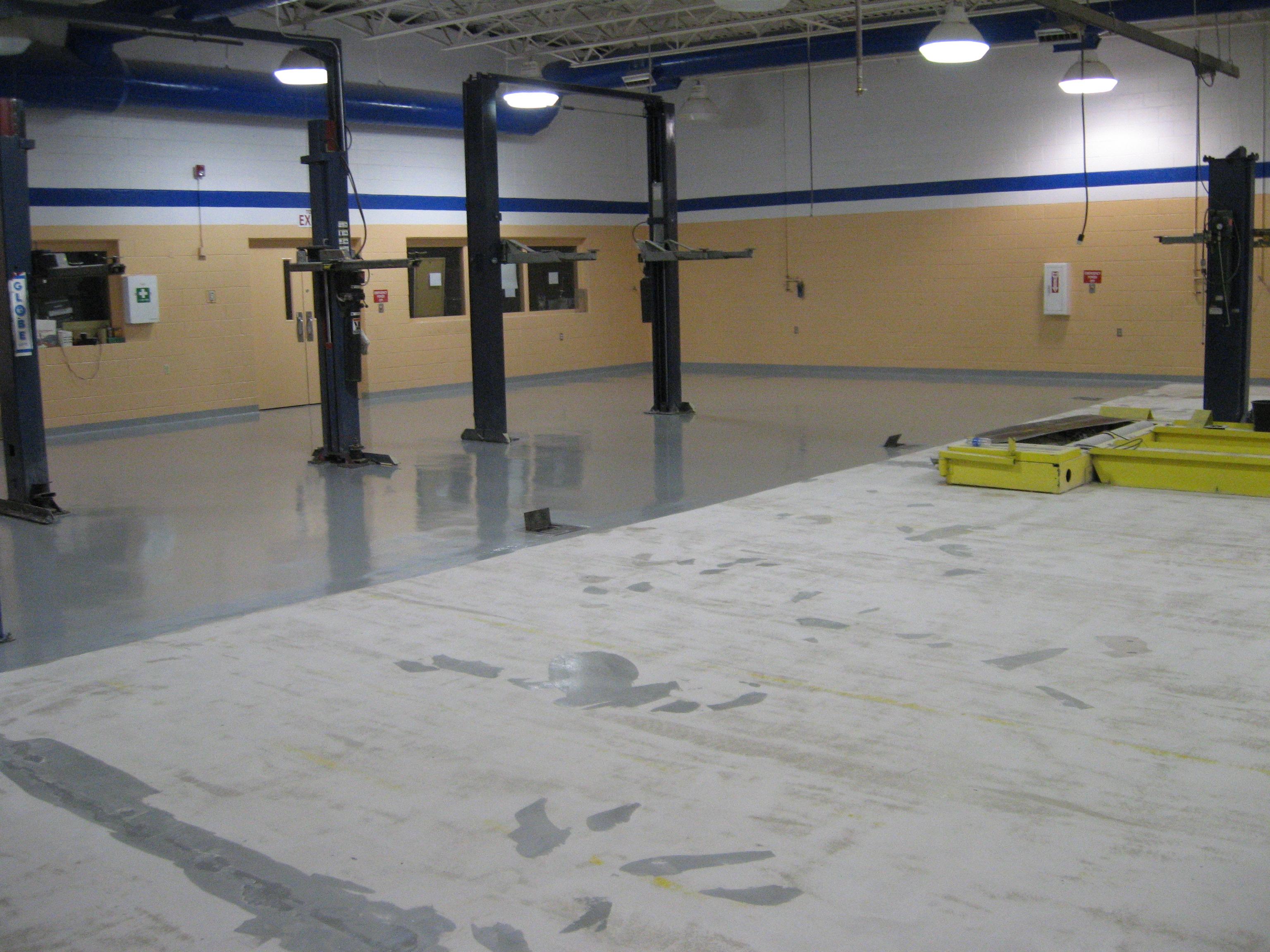 Concrete Floor Prep Winston Salem Concrete Grinding