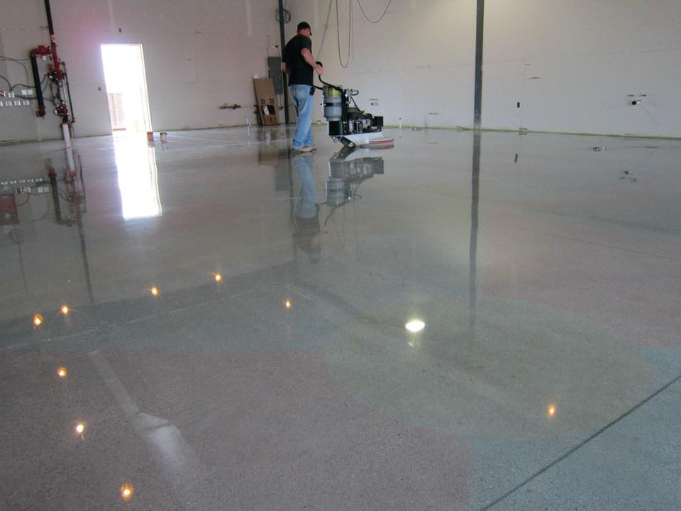 Polished Concrete Contractors Tampa   Concrete Polishing   St